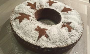 Cake chocolat vin